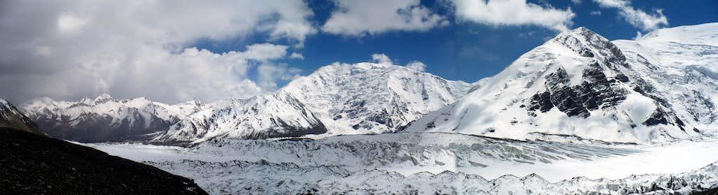 Eastern Lenin Glacier
