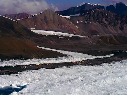 C1 on the glacier