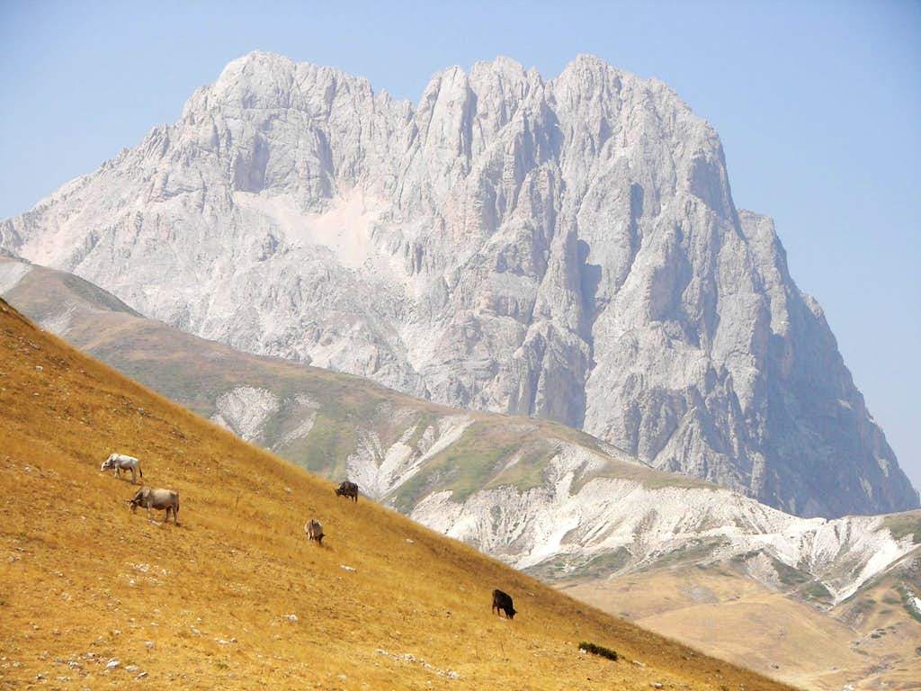 Gran Sasso from the South