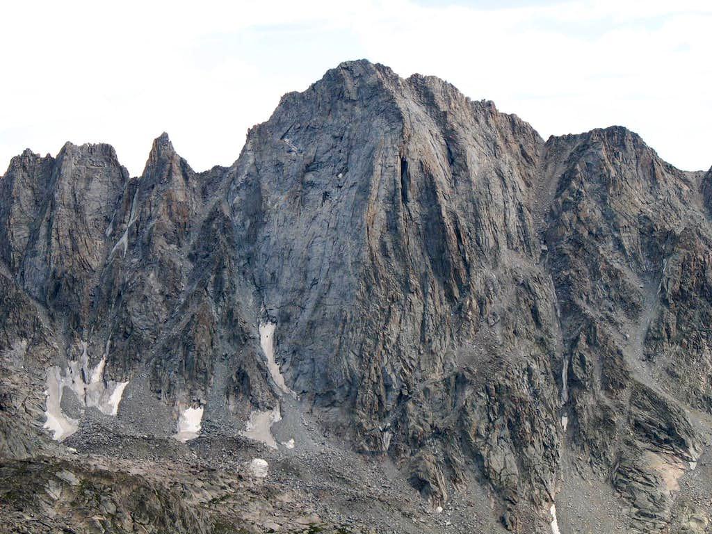 North Face of Ellingwood Peak