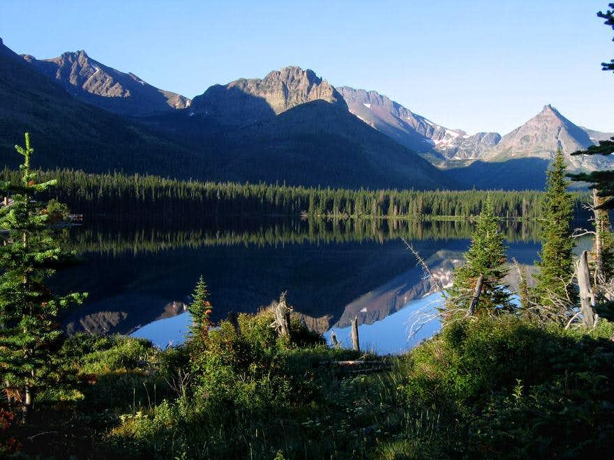 Tranquil beginning leads to Dawson Pass