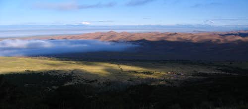 Overview of Clouds and Dunes, Great Sand Dunes National Park