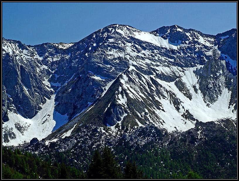 Monte Zermula North Face