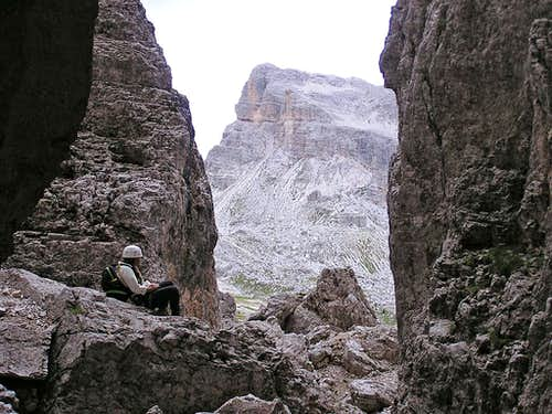 Torre Grande Cima Nord - Normal Route