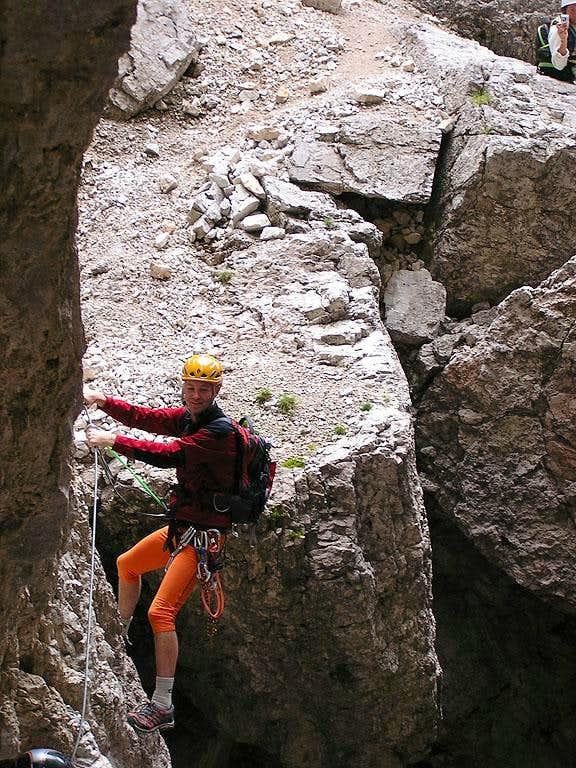 Torre Grande Cima Nord - Normal Route