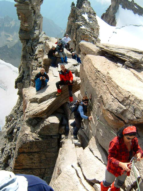 Near to the peak (Gran Paradiso )