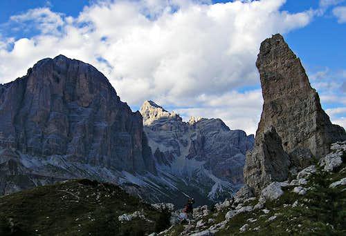 Tofane from Cinque Torri