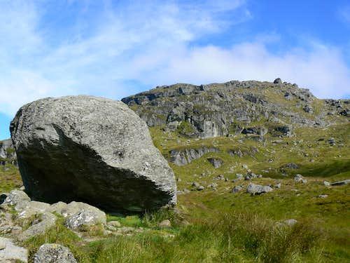 Beinn Narnain from the Narnain Boulders