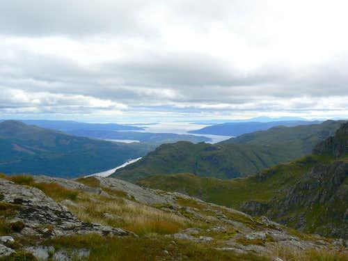 Beinn Narnain summit view
