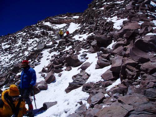 Final leg of Aconcagua