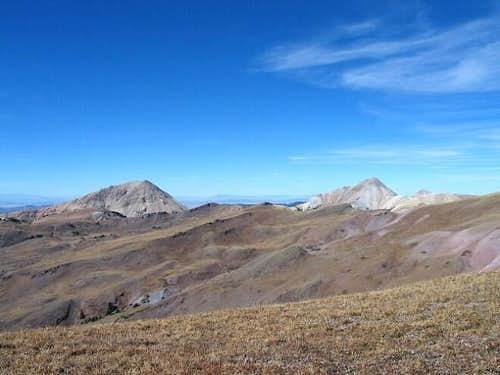 Mt Belknap (on the right) and...