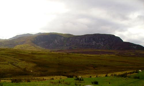 Arenig Fawr the Full Ridge