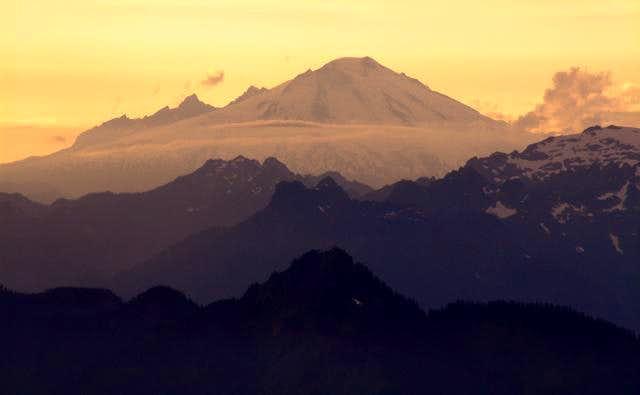 Mt. Baker as seen from Hidden...
