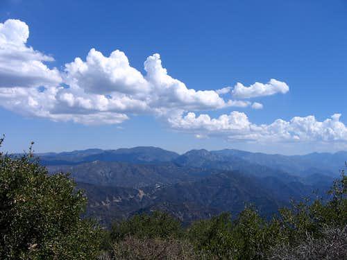 From San Gabriel Peak
