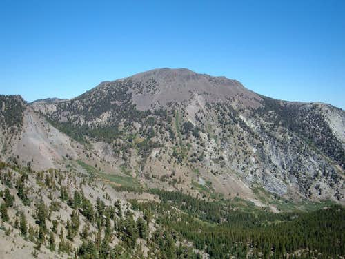 Mount Rose from the summit of Tamarack