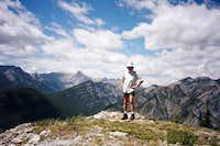 Daniel on McConnell Ridge, North Summit