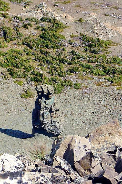 Dancing Lady Mountain - The Old Squaw