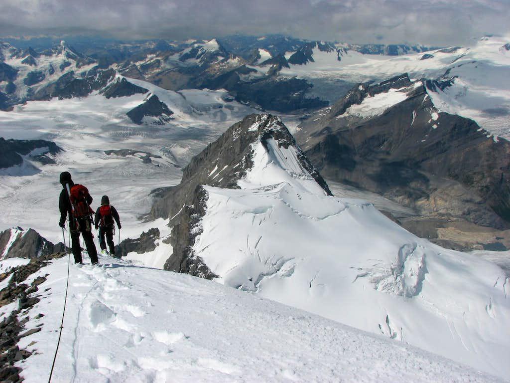 Forbes summit ridge