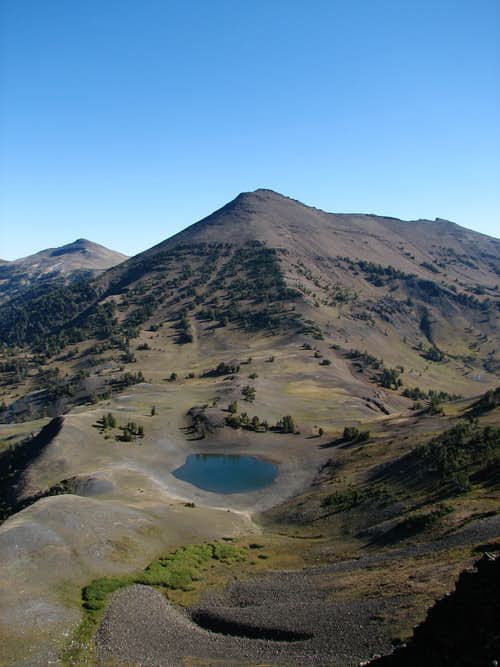 Aneroid Mountain and Dollar Lake