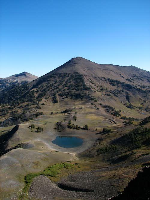 Aneroid Mountain and Dollar Lake
