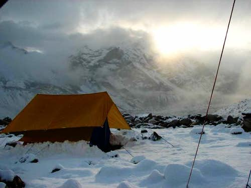 Base Camp - Nandanvan, for Bhagirathi Expeditions
