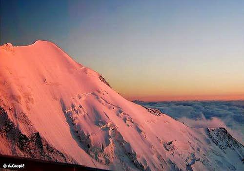 Miage-Gouter ridge