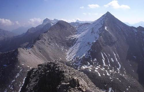Kleine and Große Seekarspitze...