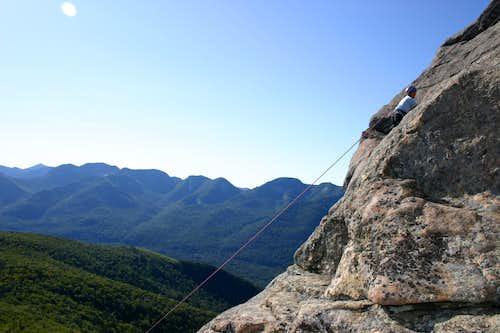 Ira's first climb