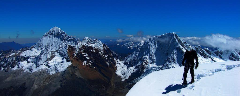 Summit of Artesonraju
