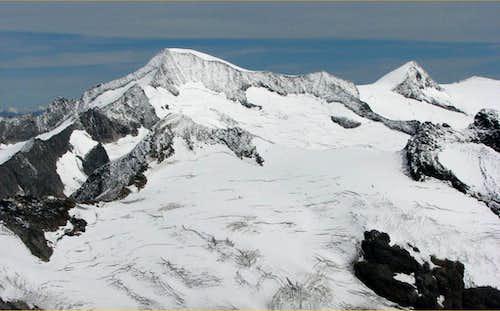 Panorma from Simonyspitze, 3488m.