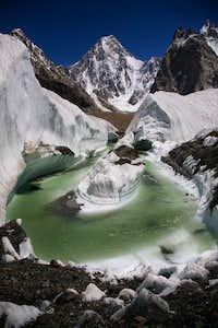Amazing View of Gasherbrum-IV, Karakoram, Baltistan