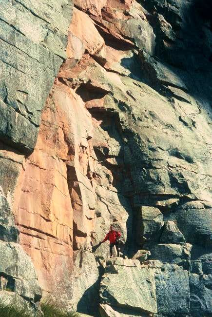 Unclimbed rock on the south...
