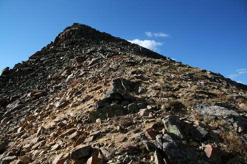 Geneva Peak-- NW Ridge