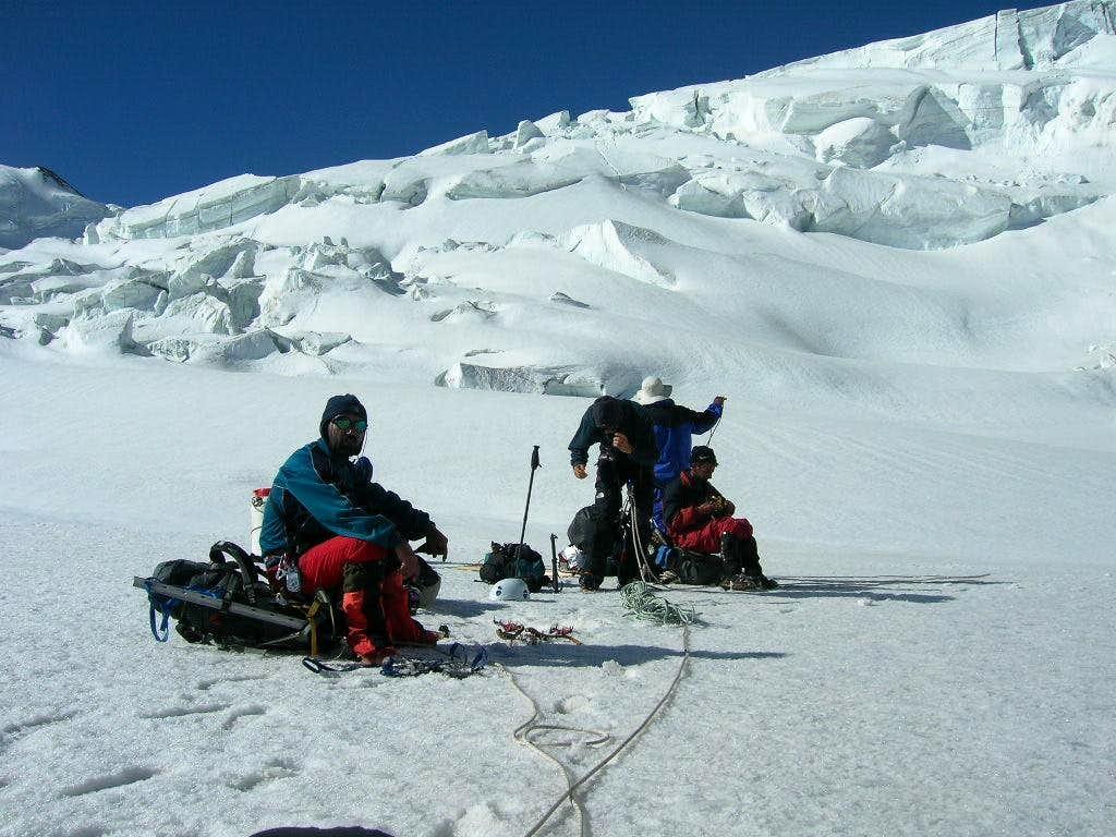 Khurdopin pass(5790m)
