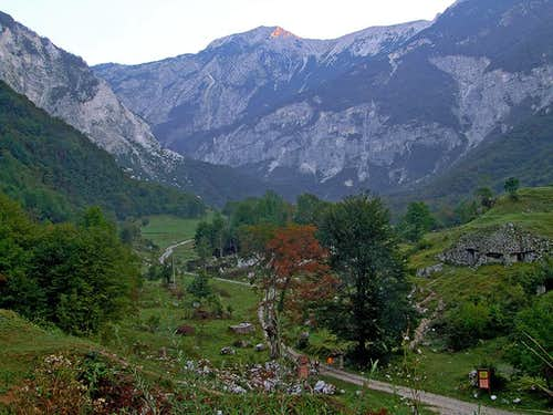 Tolminka valley