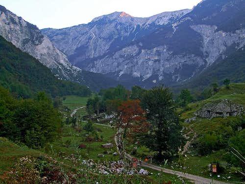 Tolminka valley
