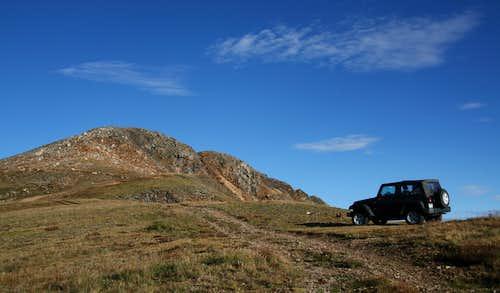 Parking Area at Santa Fe Peak