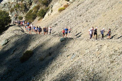 Mt. Baldy Race -to -the -Top-NOT FOR VOTING