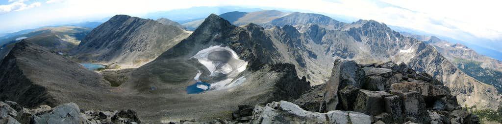 View of Kiowa and Arikaree