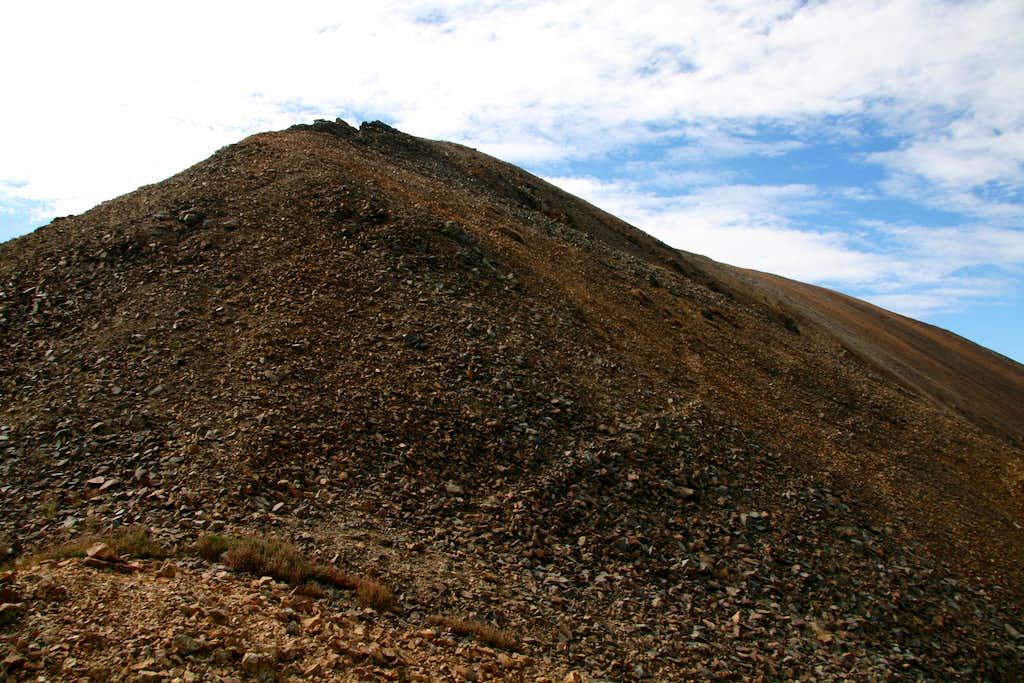 Ruby Mountain-- Route Photo