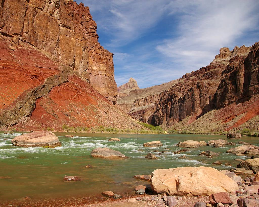 Red Canyon-Hance Rapids