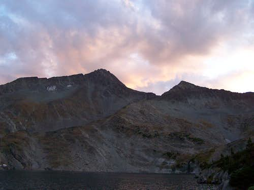 Iddings Peak Sunset