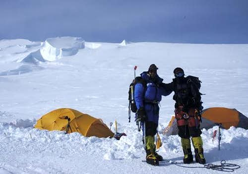 Vinson Massif Camp 2