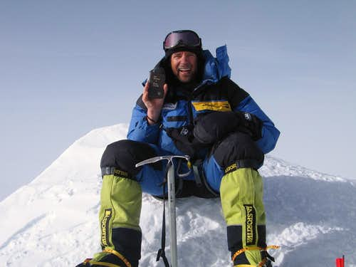 Vinson Massif summit photo
