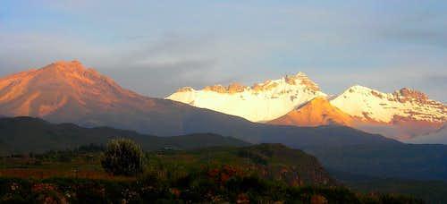 Nevado Hualca Hualca (6025m)