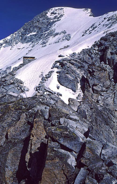On the south-east ridge of...