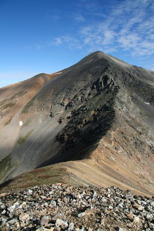Grays Peak from the False Summit