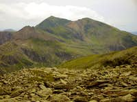 The Three 3000feet peaks of Snowdon
