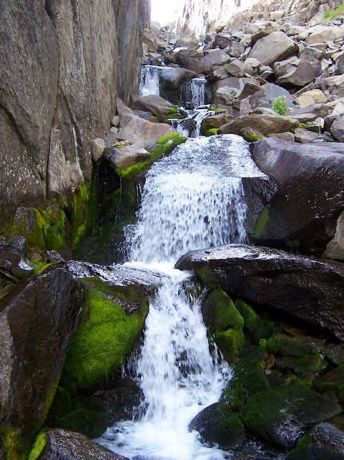 Pear Lake falls