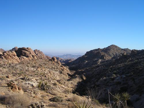 Shallow Canyons in Joshua Tree National Park
